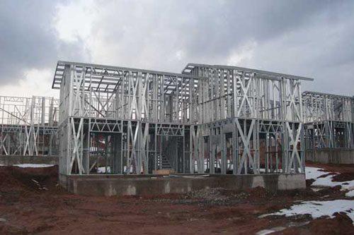 Здания на основе облегчённого металлического каркаса в Краснослободске
